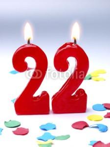 22 года поздравления с днем рождения